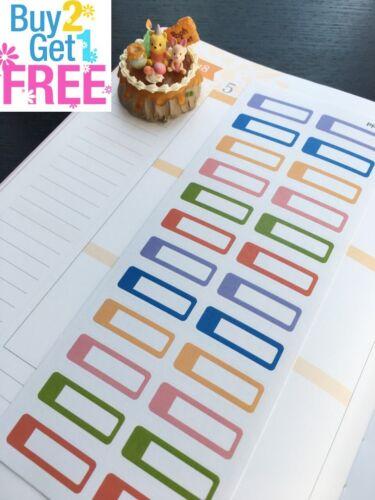 S101 Little Functional Box Time Life Planner Stickers Erin Condren