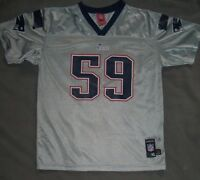 Nfl England Patriots Youth Xl / Adult Small Rare Silver / Grey Jersey -