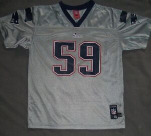 NFL New England Patriots Youth XL   Adult Small Rare Silver   Grey ... 2efb7e553
