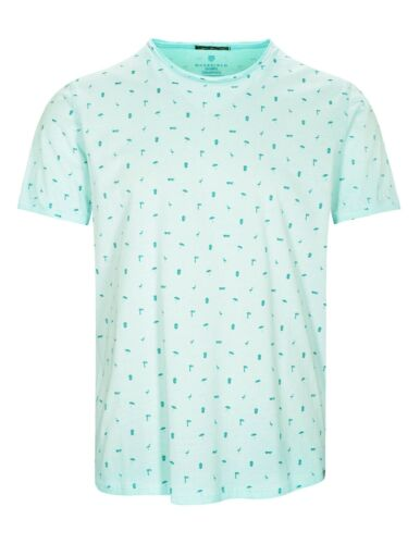 Basefield T-Shirt mit Allover-Print Soft Lake