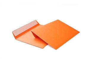 50 Briefumschläge Umschlag Orange Din C6 114x162mm 120gm²