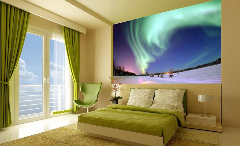 3D Arctic light 387 WallPaper Murals Wall Print Decal Wall Deco AJ WALLPAPER