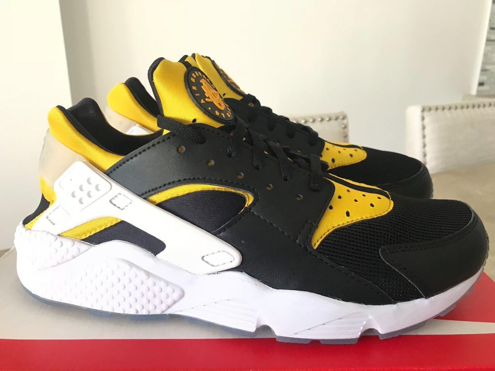 Nike air huarache berlino correre il sergente Uomo nero & university l'oro autentico