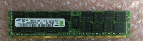 Dell Samsung M393B2G70BH0-CK0 16GB DDR3 2Rx4 RDIMM 1600MHz ECC Server Memory