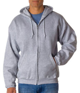 Hanes-Men-039-s-Comfortblend-Long-Sleeve-Waistband-Full-Zip-Hoodie-P180