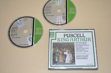 Purcell - King Arthur / Gardiner / Monteverdi / Erato 1985 / France / 1st. Press