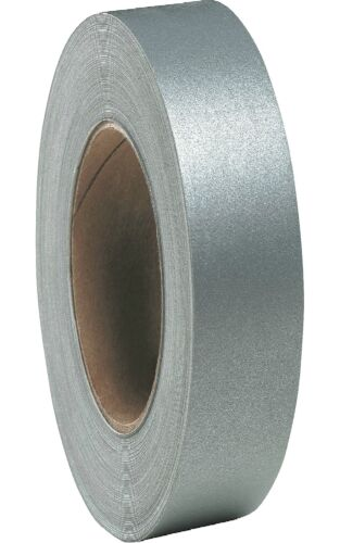 HI VISIBILITY REFLECTIVE SEW ON TAPE 25MM FREE P/&P 50 MTRS