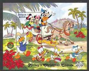 Antigua-1988-Disney-Navidad-Mickey-1v-m-s-n22287