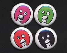 MIGHTY BOOSH Badges four Button Pins set !