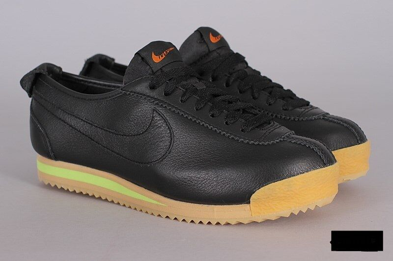 Nike Cortez '72 847126-001 Black Balsa-Gum Yellow Yellow Yellow Wmn Sz 7.5 Leather 19f38b