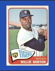 1965 Topps Willie Horton #206 Baseball Card - Detroit Tigers HOF