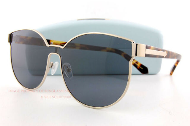 da2b72199277 Brand New KAREN WALKER Sunglasses Star Sailor Gold Tortoise Grey 1601455  Women