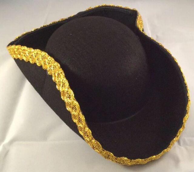 Kangaroo Kids Revolutionary War Deluxe Colonial Tricorn Hat