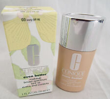 Clinique Even Better Makeup Broad Spectrum SPF 15 in Ivory 1 Fl. Oz. NIP