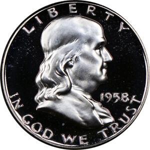 1958-Franklin-Half-Dollar-Choice-Proof