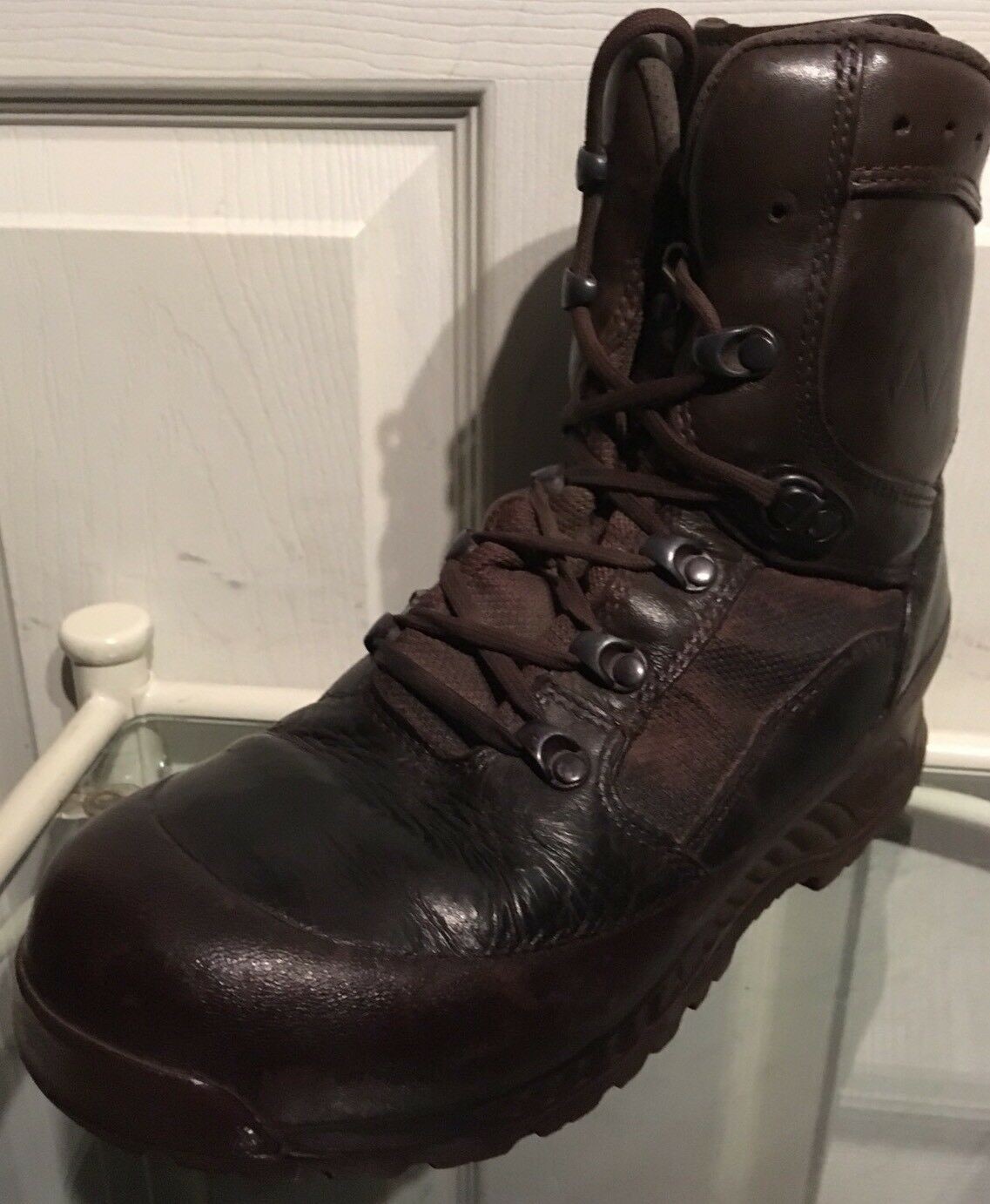Haix Brown MTP Gore-Tex Waterproof Army HX47M Issue Combat Boots 7M HX47M Army 313450