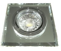 Cob Led Deckenspots Einbauleuchte Crystal Sq / Led / 230volt / 5w / Glas / Klar, A+, A+