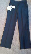 Simon jersey sz 12 long trousers grey pinstripe choose Length, iron on hem tape