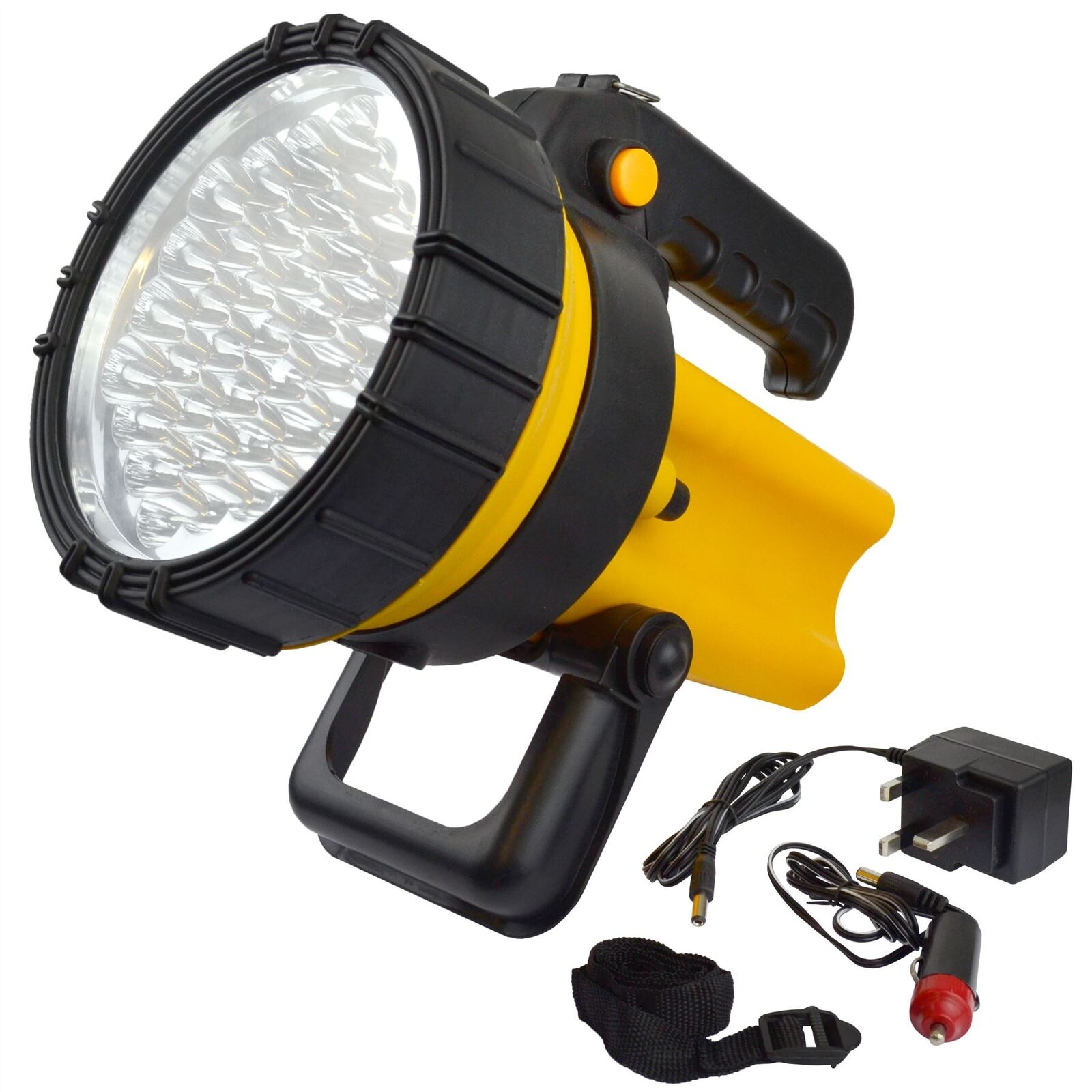 37 LED Rechargeable Lantern Work Light Torch Spotlight Lamp TE650