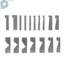 Angle Block 14 To 45 Degree Hardened Steel Precision 17pcs Set In Case