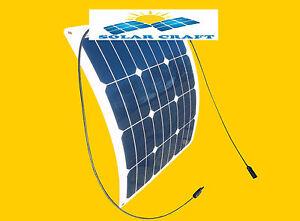 Panel-solar-35-Vatios-12V-mono-semi-flexible-fotovoltaica-Campamento-PV