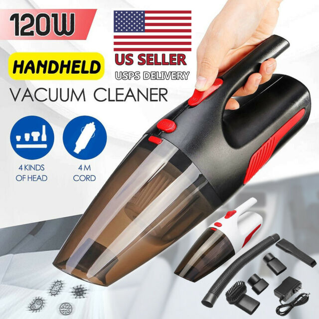 Handheld Car Vacuum Cleaner Portable Cordless 5 KPA Vacuum Cleaner for Vehicle