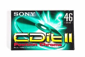Sony-CDit-II-46-Audiocassetta-vergine-Cromo