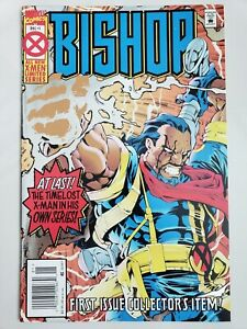 BISHOP-1-1994-MARVEL-COMICS-FOIL-COVER-CARLOS-PACHECO-HTF-NEWSSTAND-VARIANT