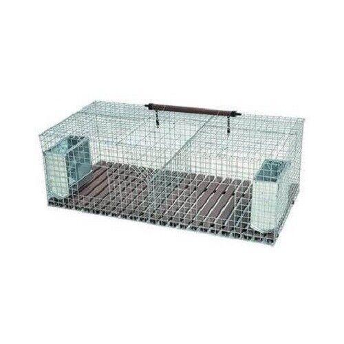 gabbia per conigli fattrici quattro fori cm 200x50x34h