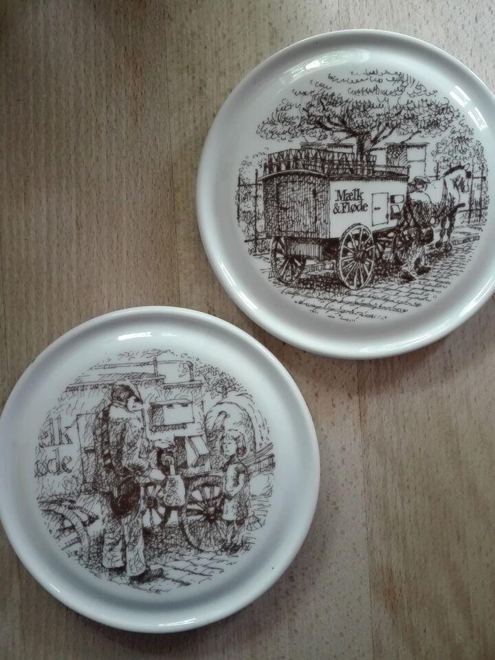 Porcelæn, platter, fade