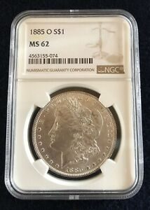 1885-O-1-Morgan-Silver-Dollar-NGC-Graded-MS62