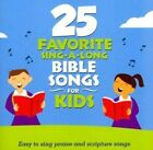 25 Favorite Sing-A-Long Bible Songs For Kids by Songtime Kids (CD, 2015, Green Hill)