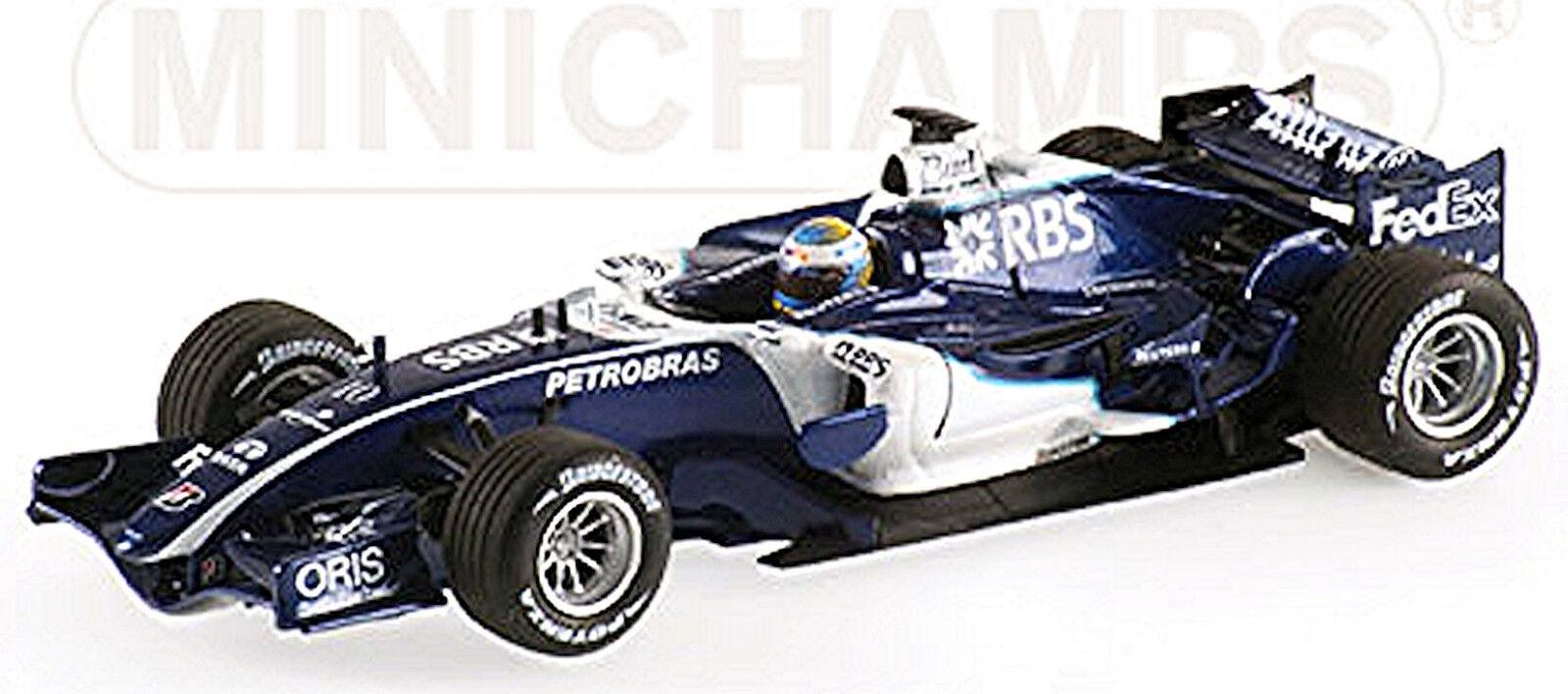 entrega gratis Williams Williams Williams Cosworth FW28 Nico Rosberg 2006  10 - 1 43 Minichamps  buena calidad