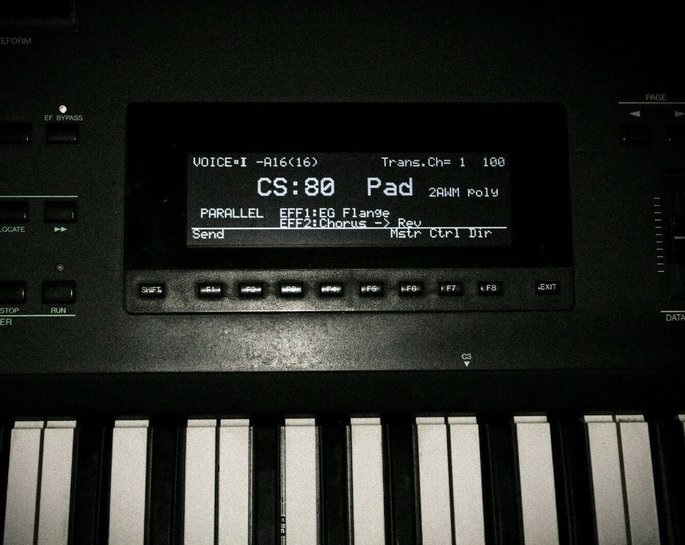 Yamaha TG-77 SY-77 SY-99 SY-99 SY-99 QY-300 Gráfico Pantalla LED   100% autentico