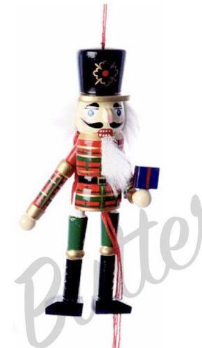 Figuras De Elfo De Navidad Tradicional-Marioneta de cadena de tracción Cascanueces Decoración