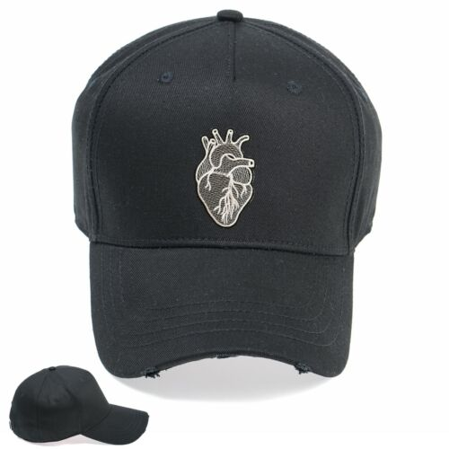 Anatomical Heart Funny Embroidered Vintage Hat Cap Beanie Snapback Weathered