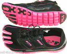 New Fila Skele-toes Athletic Shoes Lite Women Size 6/Girl sz 4 Black/Hot Pink