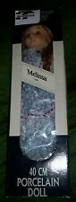 BAMBOLA MELISSA - The Heritage Mint Ltd Collection - Porcelain Doll - 1988 - NEW
