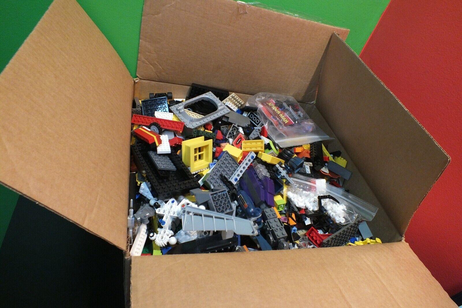 11 libras de legos Random Piezas de LEGO Caja Grande