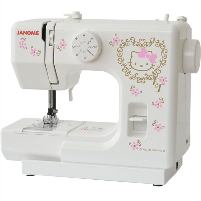 Janome Hello Kitty Electric Sewing Machine Kt40 Ac40v 4040hz EBay Unique Janome Hello Kitty Sewing Machine