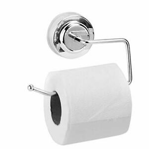 Porta-rotolo-di-carta-igienica-a-ventosa-Supporto-per-senza