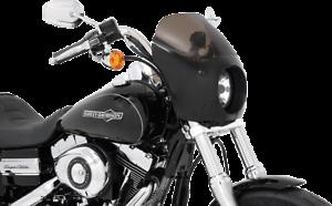 Memphis Shades Gauntlet Fairing Black Mount Kit 14-17 Harley Davidson Dyna FXDL
