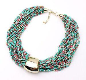 Bohemian-Fashion-Women-Chunky-Chain-Pendant-Choker-Bib-Necklace-Collar-Statement
