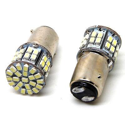 New 12V 1157 BAY15D SMD 50 LED Car Tail Brake Turn Signal Light Lamp Bulb White