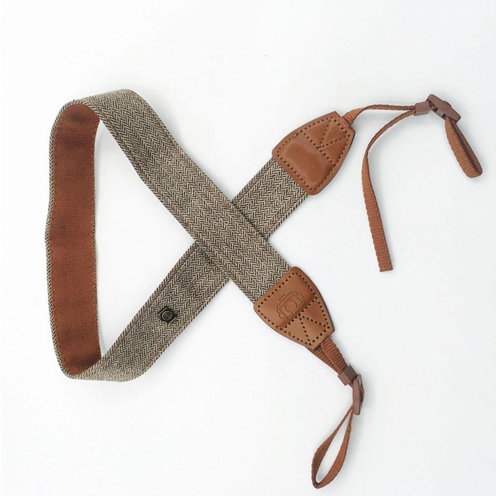 Hot Sale Camera Shoulder Neck Vintage Strap Belt for Sony Nikon Canon Camera vOI 7