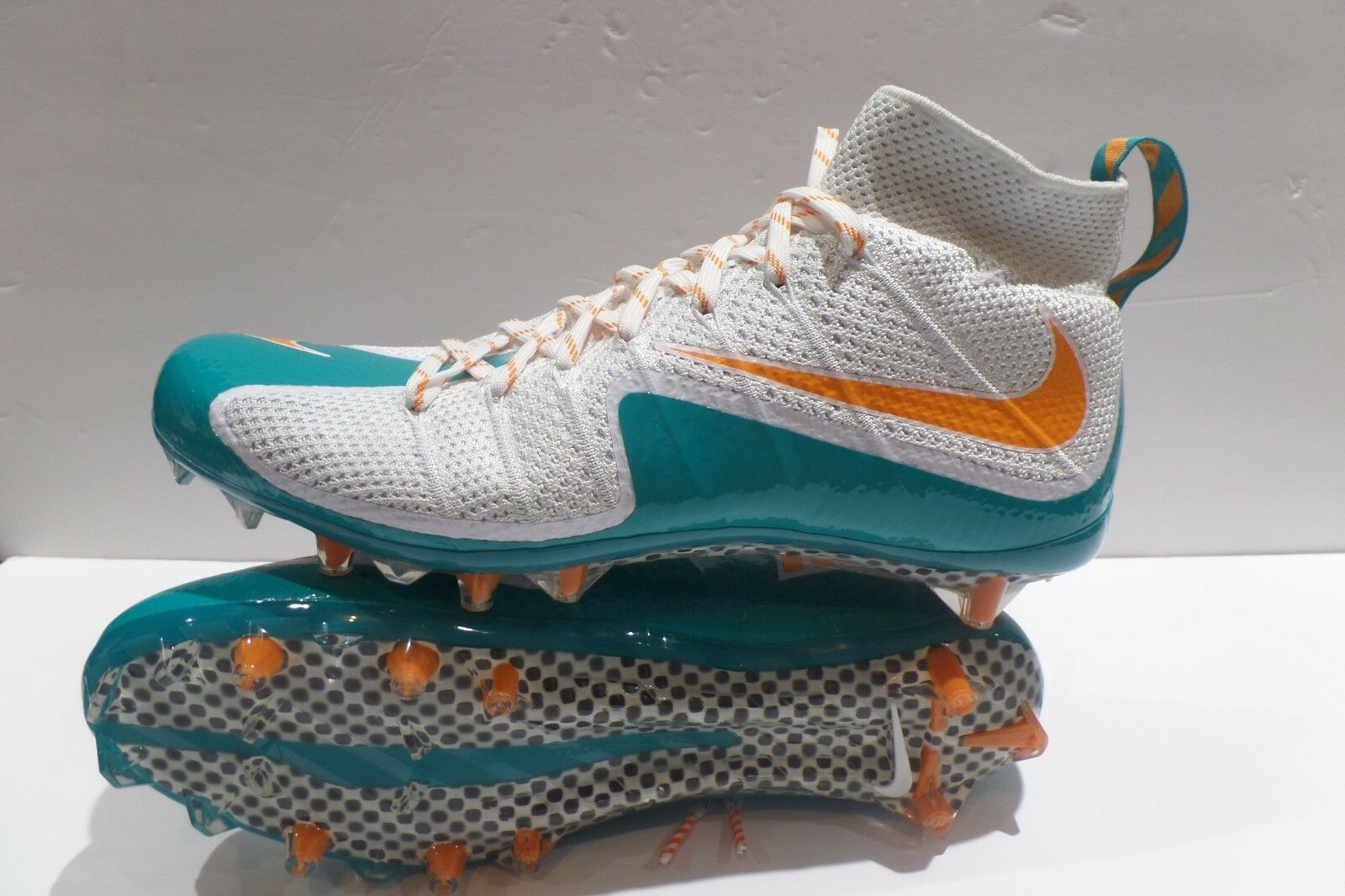 Nike Vapor Untouchable PF Miami Dolphins 707455-117 Mens Football Cleats 13