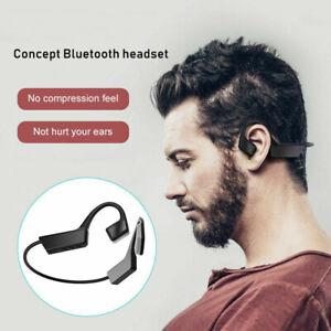 Portable Black Waterproof Outdoor Sports Bluetooth 5.0 Wireless Open-Ear Headset