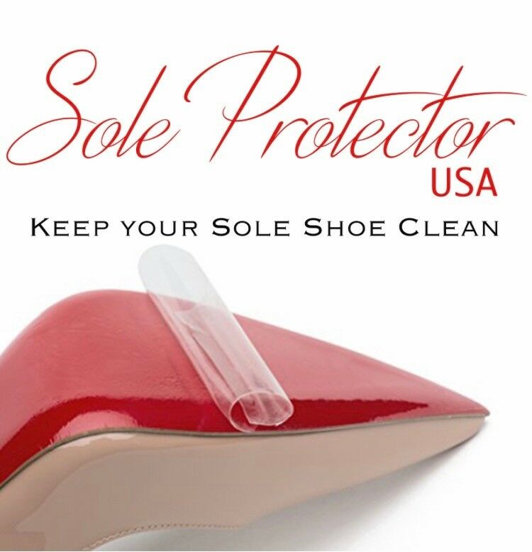 Crystal Clear 3M sole protector guard for Christian Louboutin red bottom bottom red f6f625