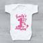 Personalised My 1st First Birthday Pink Unicorn Girls Baby Grow Bodysuit