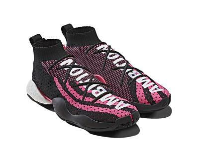 """26e6255d98092 Adidas Pharrell Williams Crazy BYW LVL X PW """"Ambition Black"""" Size 6.5  DEADSTOCK"""